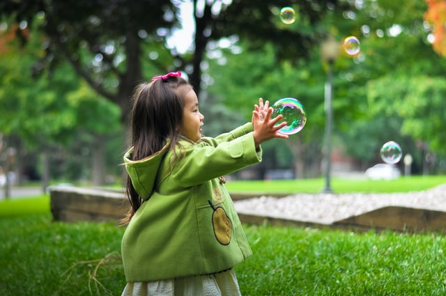 Bubble Flying Games for Kids