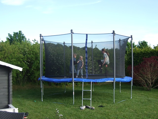 Trampoline Jumping Games