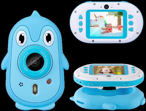 Luoges Kids Digital Waterproof Camera