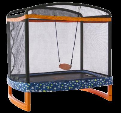 JUMP POWER 72 x 50 Rectangle IndoorOutdoor Trampoline