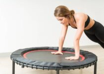 BCAN 38 FOLDABLE MINI TRAMPOLINE REVIEW