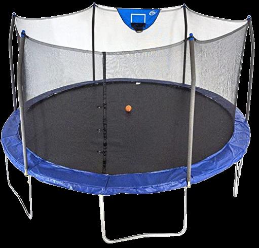 Skywalker 15 Feet Jump N Dunk Round Trampoline