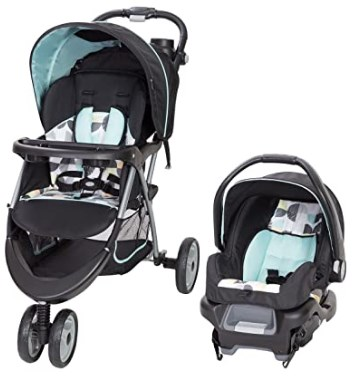 Baby Trend EZ Ride 35 Travel System, Doodle Dots