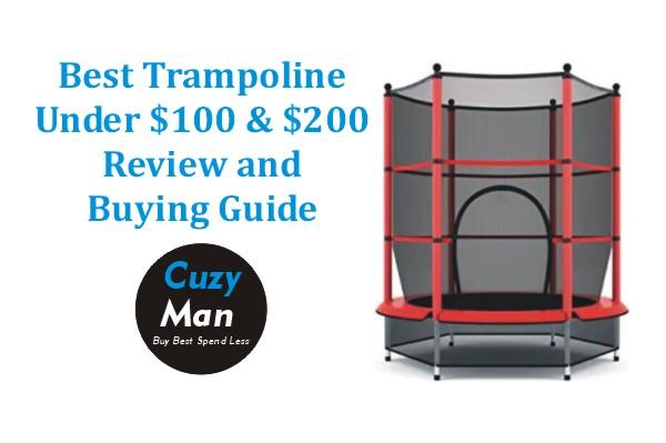 Best trampolines under $100 and $200
