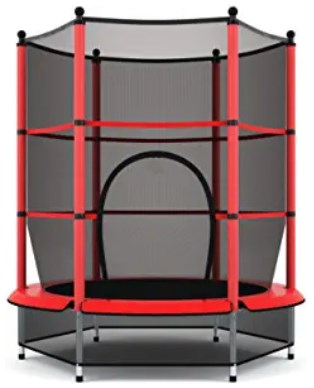 Gymax 55 inches trampoline