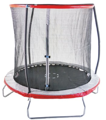 Sportspower-Heavy-Duty-Outdoor-Trampoline-with -Steelflex-Enclosure-Net-and-Poles- Meets-Exceeds-ASTM-Standards